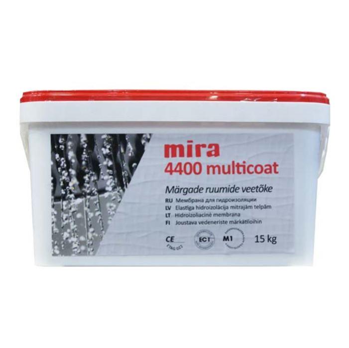 mira 4400 MULTICOAT 15kg Flexible waterproofing for wet rooms (ETAG 022)
