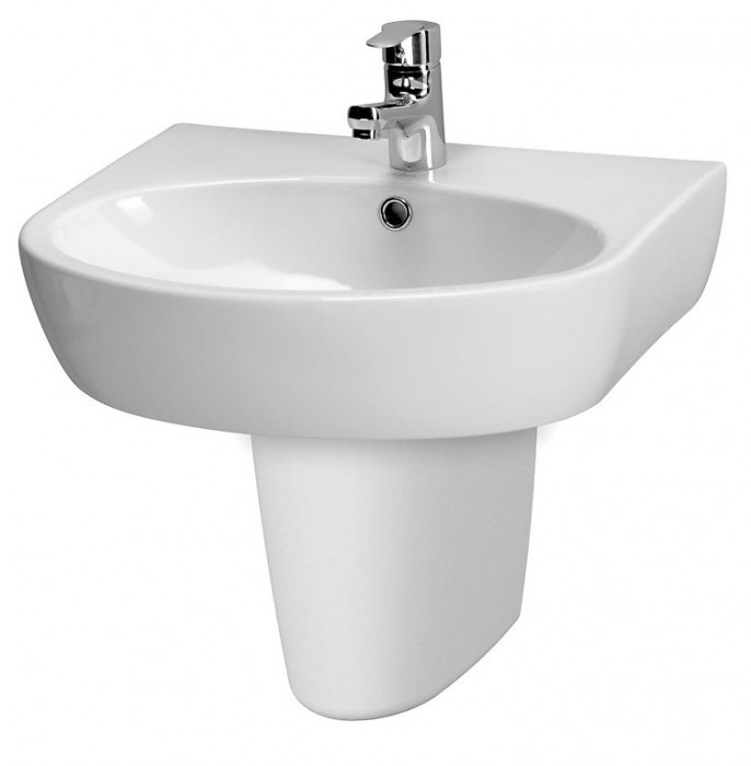 WASHBASIN PARVA 55 ONE HOLE
