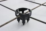 Grīdu un pārsegumu ierobežotājs TS25mm 500gabali/iepakojumā