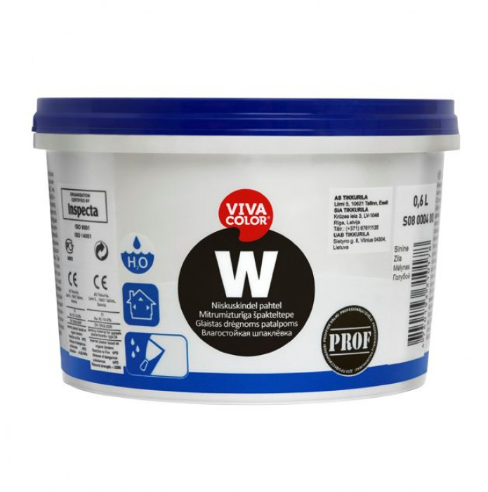 Vivacolor W 0.6l  Wet room filler