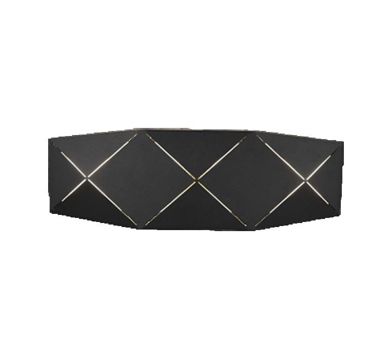 Настенный светильник TRIO Zandor 1XLED SMD 13W 1000Lm 3000K черный 223510232