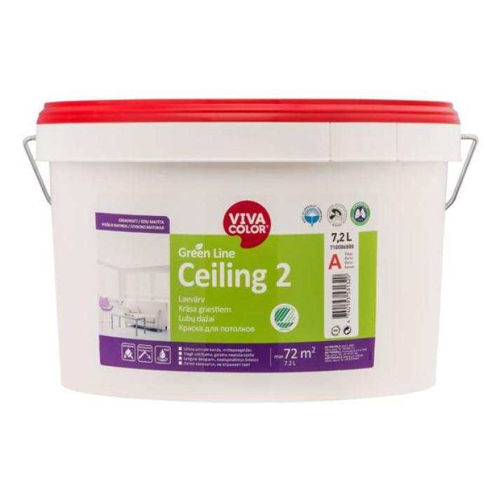 VIVACOLOR GL Ceiling 2 A 7.2L Deep matt ceiling paint