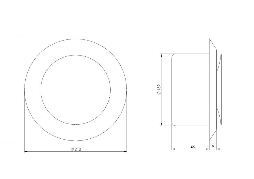 diffusermetal,supply,Ø160mm