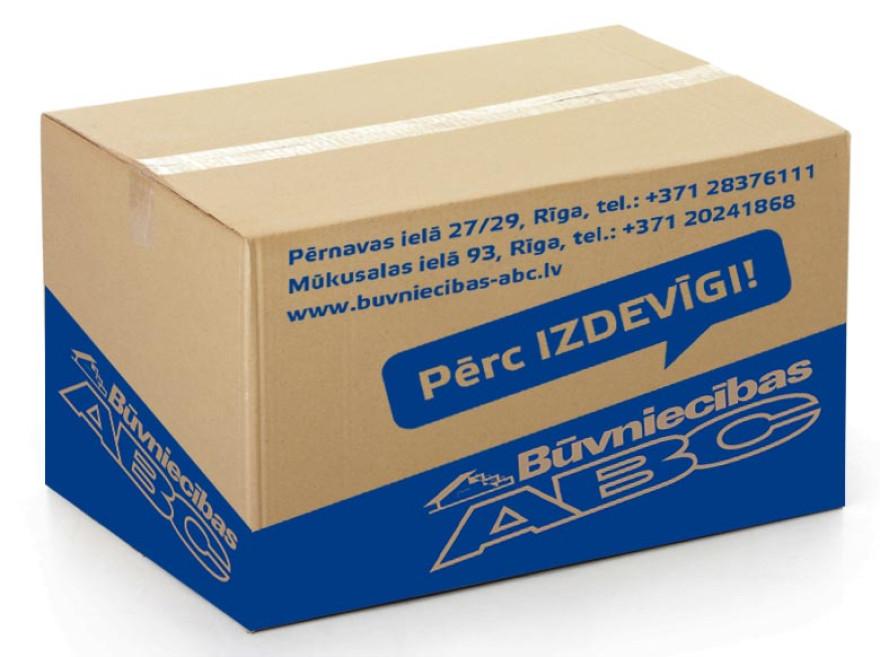 Kartona kaste 590x390x450mm , brūns/brūns liela