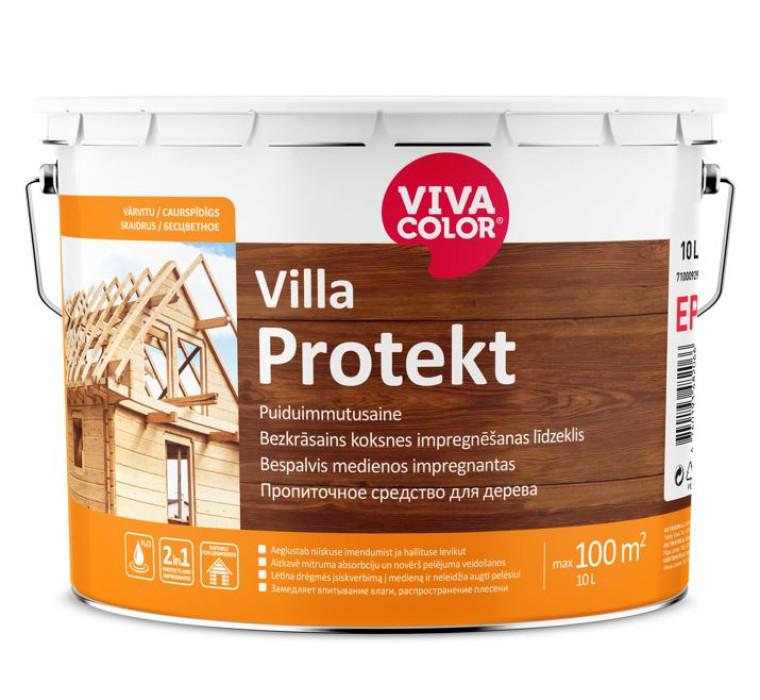 Vivacolor VILLA PROTEKT 10L Colourless wood impregnate