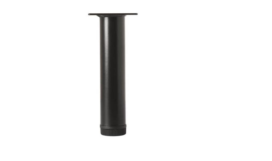 Galda kāja melna 32x100mm