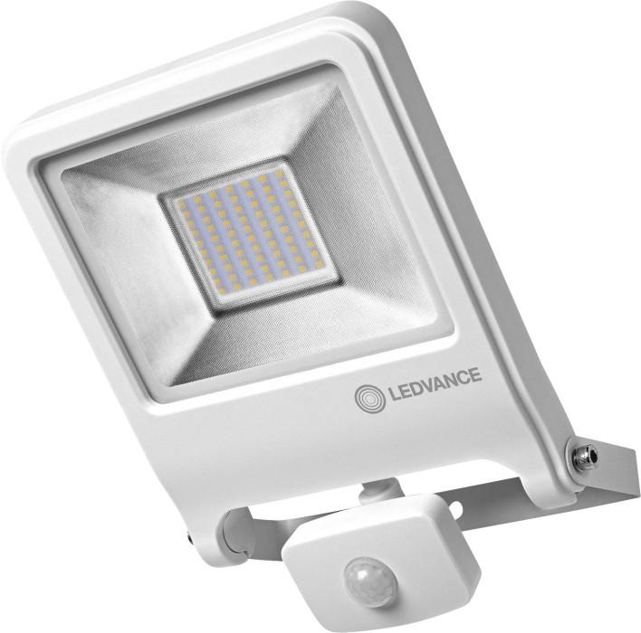 Prožektors LEDVANCE 50W 4500lm 3000K 120⁰ IP44 ar kustības sensoru balts