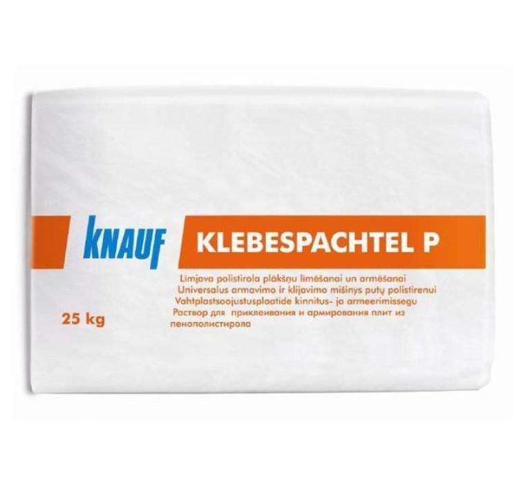 Knauf KLEBESPACHTEL P 25kg Armējošā līmjava stiroporam