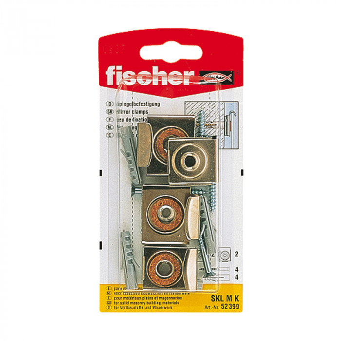 FISCHER mount for the mirrors SKL-M 4 pcs. (61-45490B)