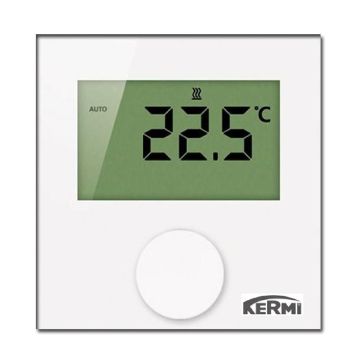 Termostats telpas digitāls LCD230V KERMI , SFEER001230