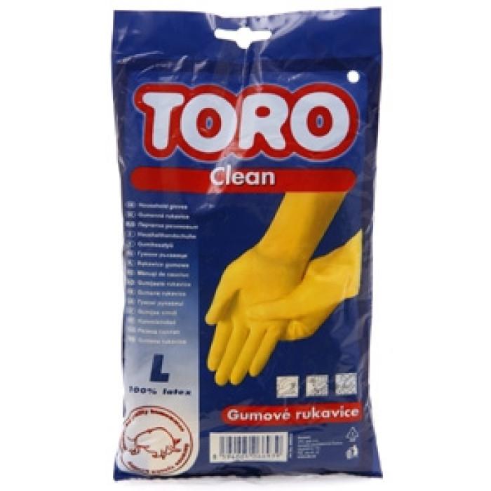 Rubber gloves size L