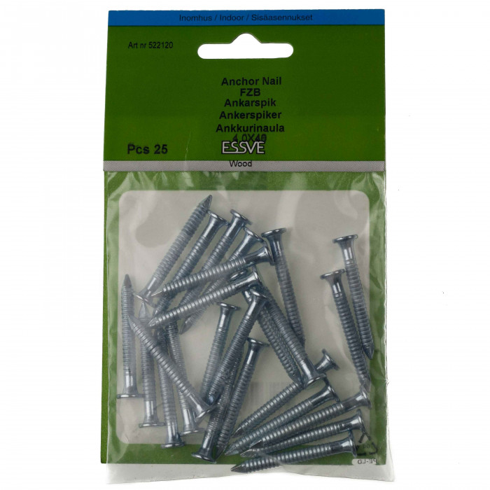 Essve Anchor Nails 4.0x40 25pcs. 522120
