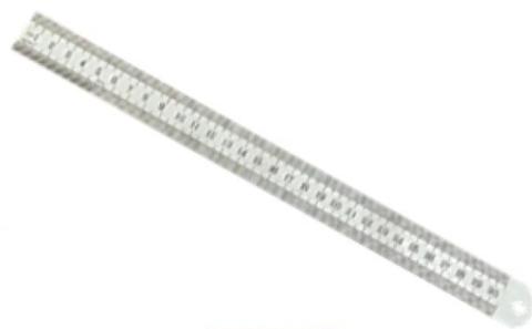 Lineāls metāla   1000mm *