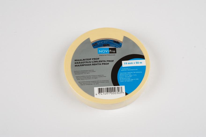 NOVIPRO masking tape 19mm x 50m  PROF