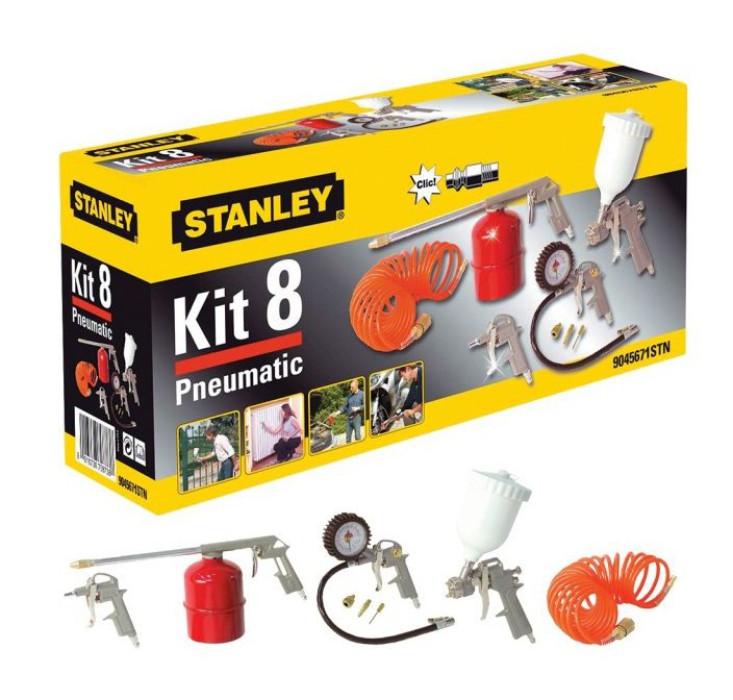 Pneumatic Tool set Stanley KIT 8 Pneumatic 9045671STN