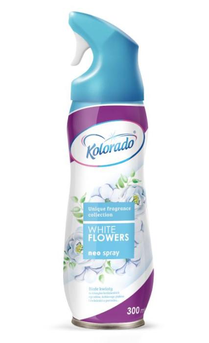 Gaisa atsvaidzinātājs Kolorado  NEO White Flowers 300ml