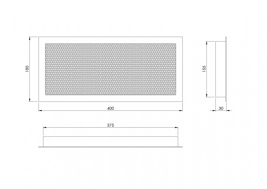 grillefireplace,400x180mm