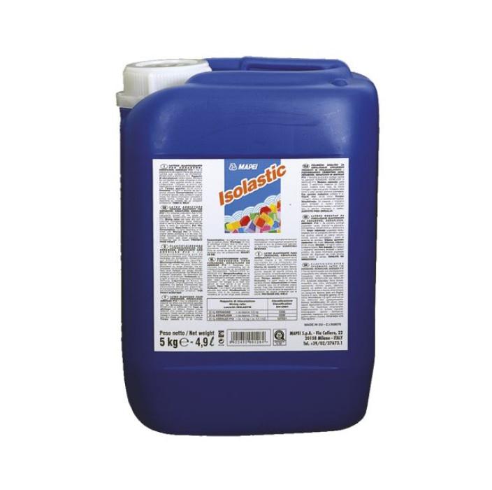 Mapei ISOLASTIC 10kg Polymeric admixture imparting flexibility