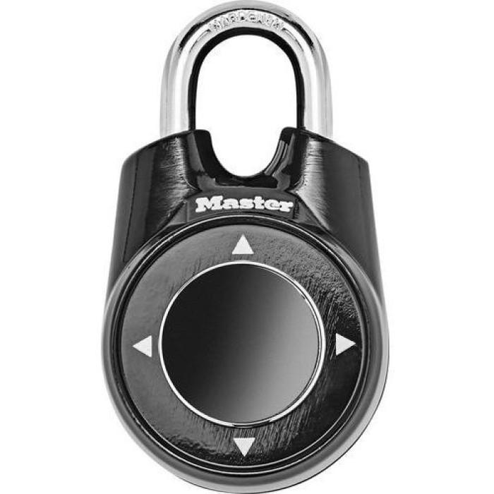 "Piekaramā slēdzene ""ONE""  55mm, melna 1500IEURDBLK"