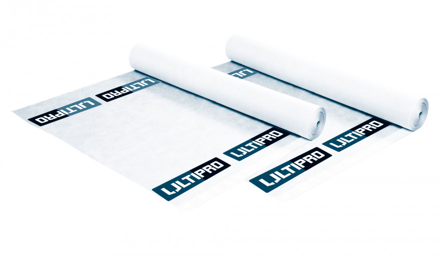 Diffusion Film AQ180g 1.5mx50m ULTIPRO 3-Layer Roof Underlay
