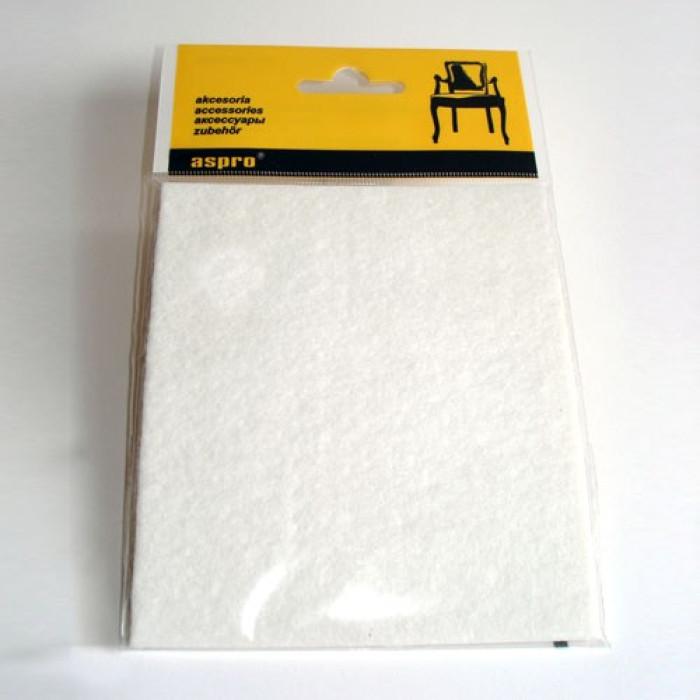 Aizsargpaliktnis mēbelēm 40001  Balts 1gab/iepak 120x100mm