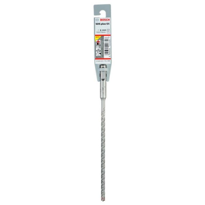 Bosch SDS-plus-5X Hammer Drill Bit 6 x 150 x 210 mm 2608833779