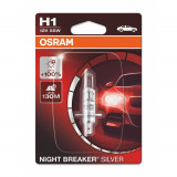 AUTO SPULDZE OSRAM 55W 12V  H1 Night breaker silver 1gb blister