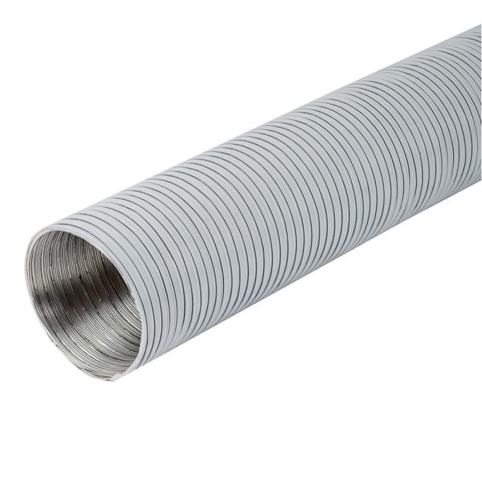 airductaluminium,Ø125mm-3m,white