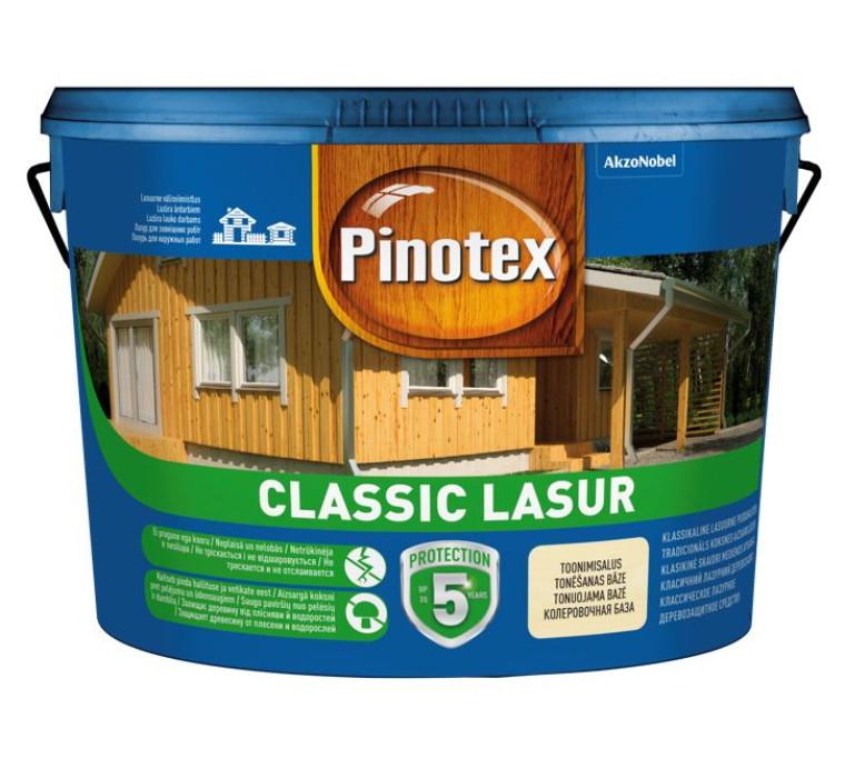 Pinotex CLASSIC LASUR 10 L walnut