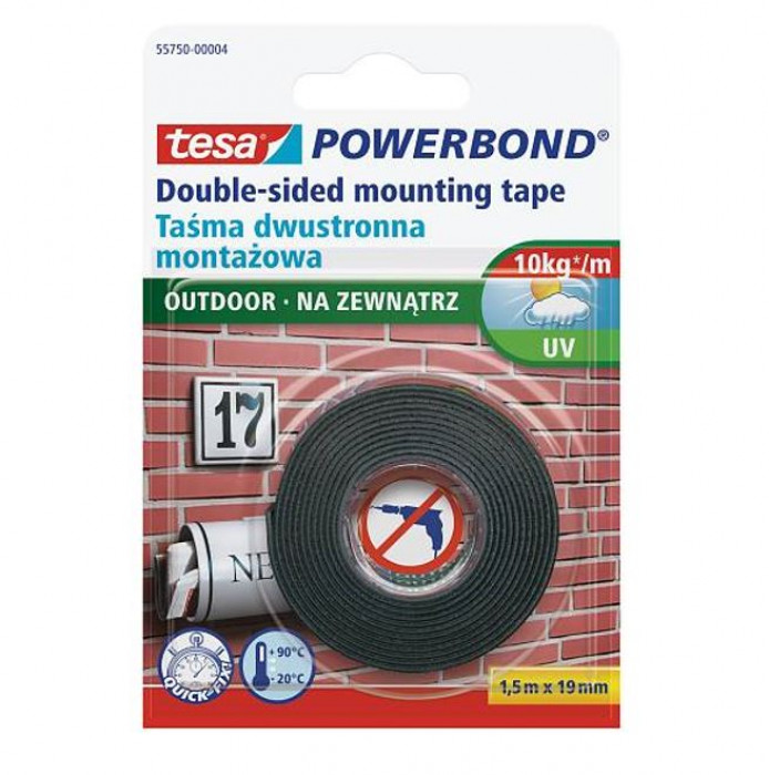 tesa 55750 Powerbond OUTDOOR 1.5mx19mm