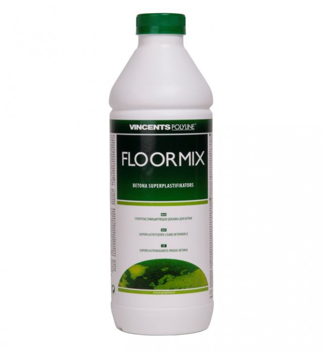 Vincents FLOORMIX 1L additive to floor-heating concrete