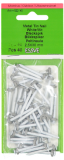 Essve Metal Tin Nails 2.5x30 white 40pcs. 522145