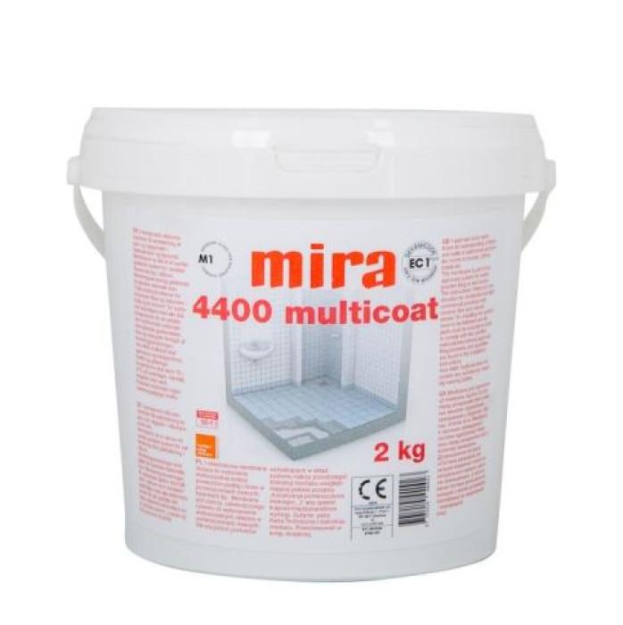 mira 4400 MULTICOAT 2kg Flexible waterproofing for wet rooms (ETAG 022)