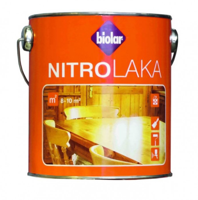 Biolar Nitrolaka 1L Gloss Lacquer