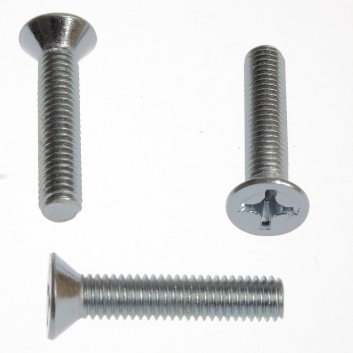 Countersunk Head Screw Din 965 M8x40 (100)