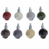 Roofing Screw with Washer  4.8x28 (RR23 dark grey) (250)
