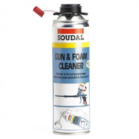 Soudal CLEANER Gun&Foam 500ml Putupistoļu tīrītājs