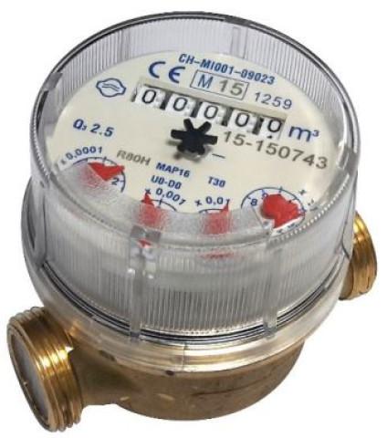 Ūdens skaitītājs 1/2  AC  karstam ūd.  997002