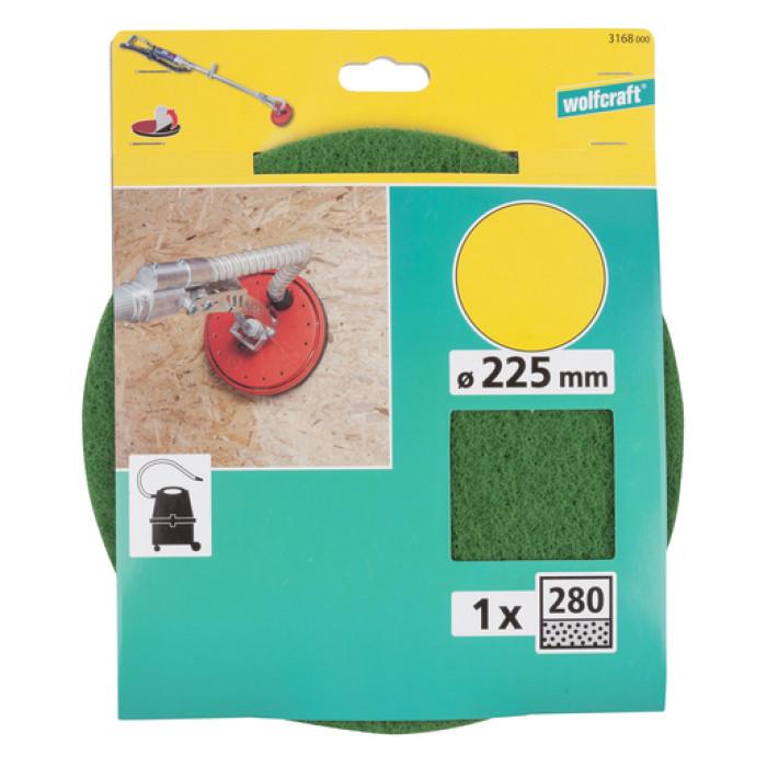 Pulēšanas disks D225 P280, WOLFCRAFT 3168000