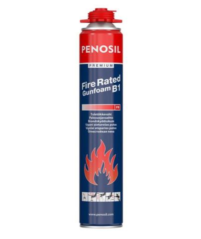 Penosil FIRE RATED GUNFOAM  Ugunsdrošās pistoļputas 750ml