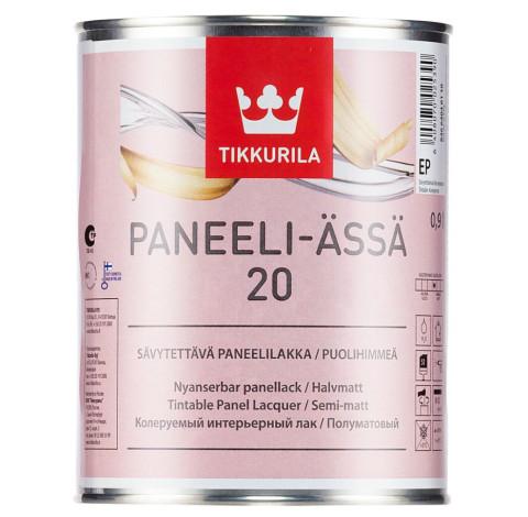 Tikkurila PANEELI-ÄSSÄ 20 EP  0.9L paneļu laka, pusmatēta