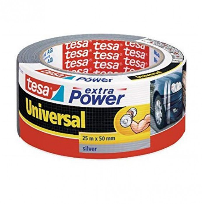 tesa 56388 Extra Power universal tape 25mx50mm Silver