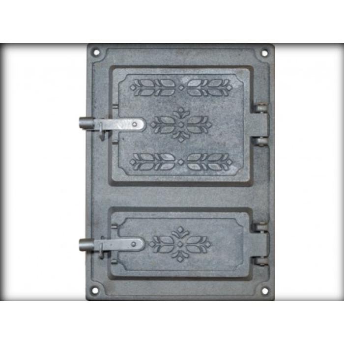 JUGNE-L čuguna plīts durvis  370x270 mm A-32