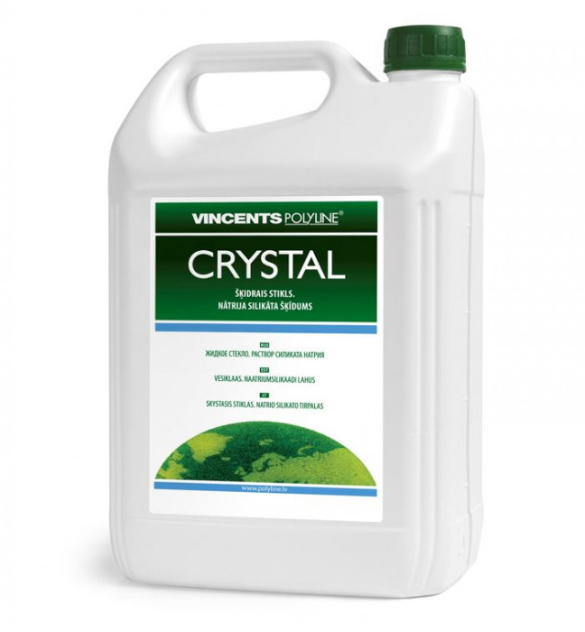 Vincents CRYSTAL 7kg sodium silicate solution