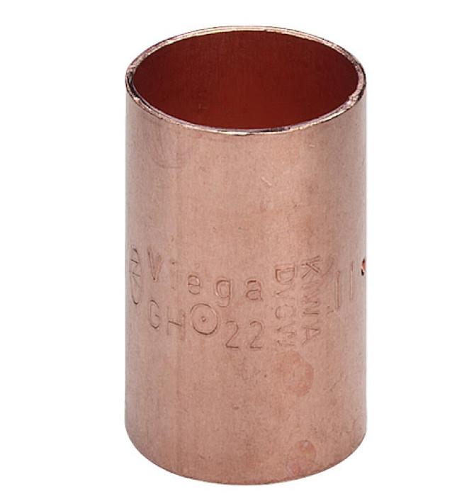CU Straight coupling 22 (F-F) (5270)