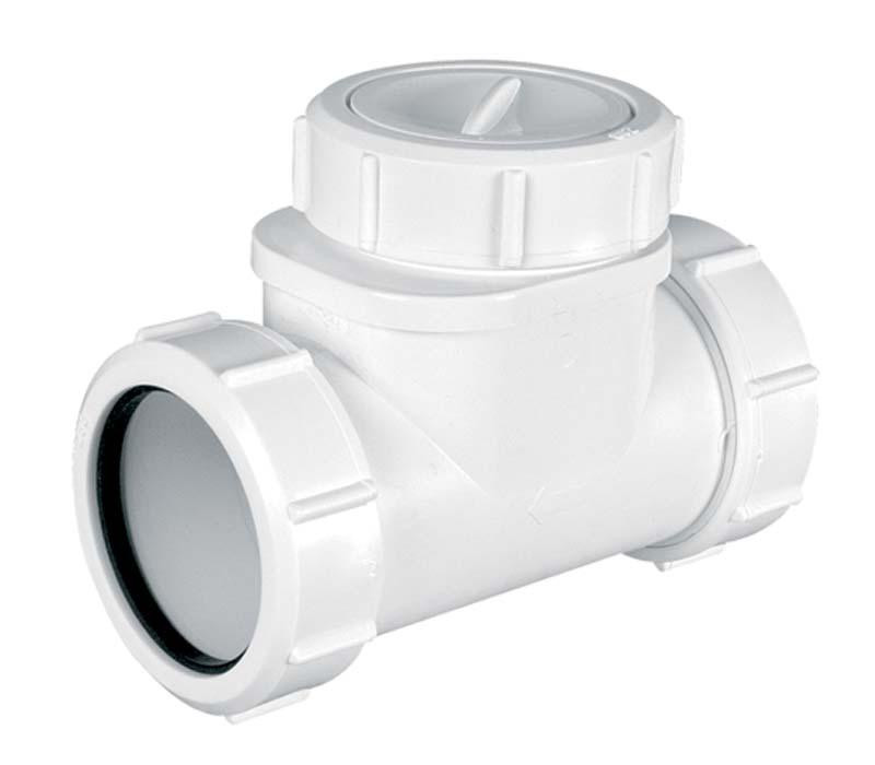 sewer horizontal non-return valve 32mm