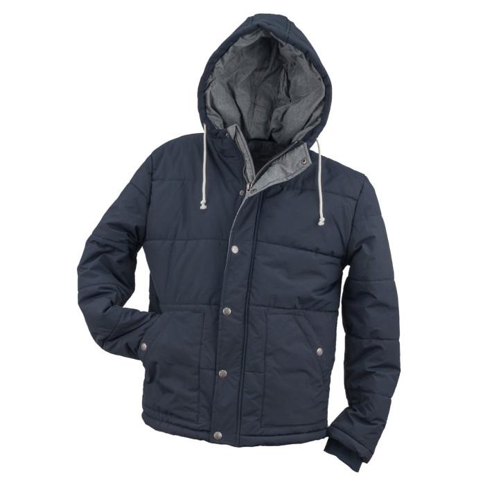 Jaka URG-0142  tumši zila ar kapuci, Izm. 50
