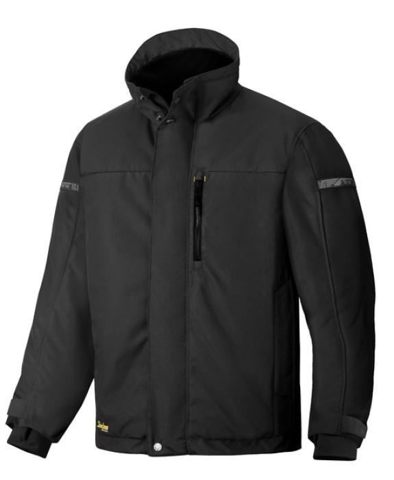 Winter jacket SNICKERS black, size L (1100/0404-L)