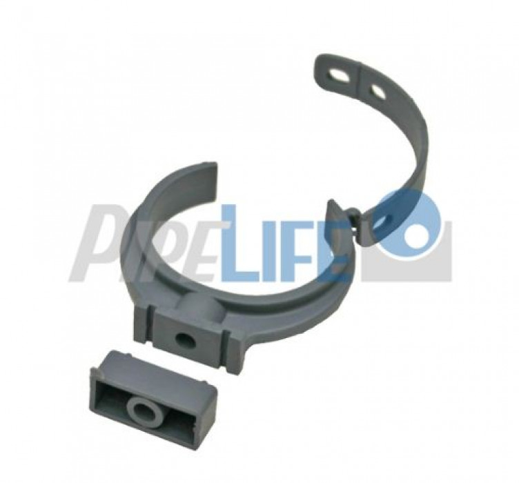 Indoor Sewer systems, PP Pipe Clamp Dn 50