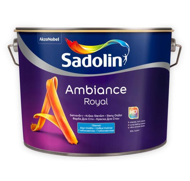 Sadolin AMBIANCE ROYAL BW 10L Stipri matēta krāsa sienām